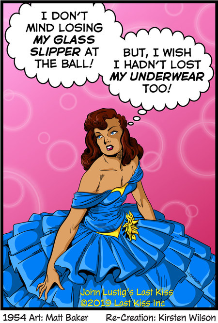 Last Kiss Comic Strip for May 15, 2019