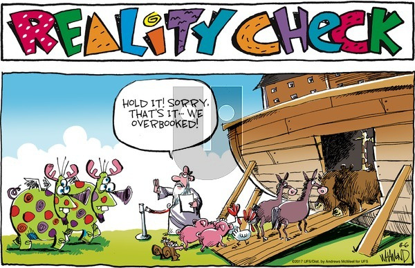 Reality Check on Sunday August 6, 2017 Comic Strip