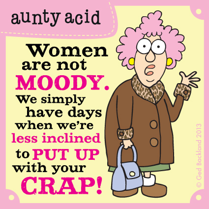 Aunty Acid for Oct 19, 2013 Comic Strip