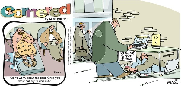 Cornered on Sunday April 21, 2013 Comic Strip