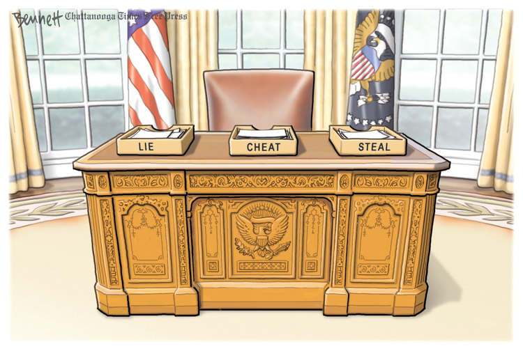Clay Bennett by Clay Bennett for September 27, 2019