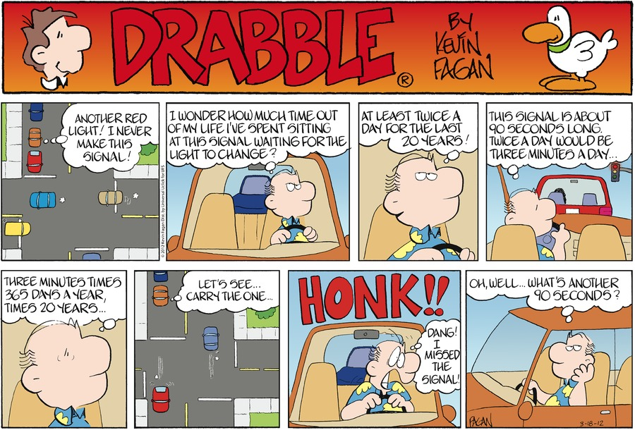 Drabble Comic Strip for March 18, 2012