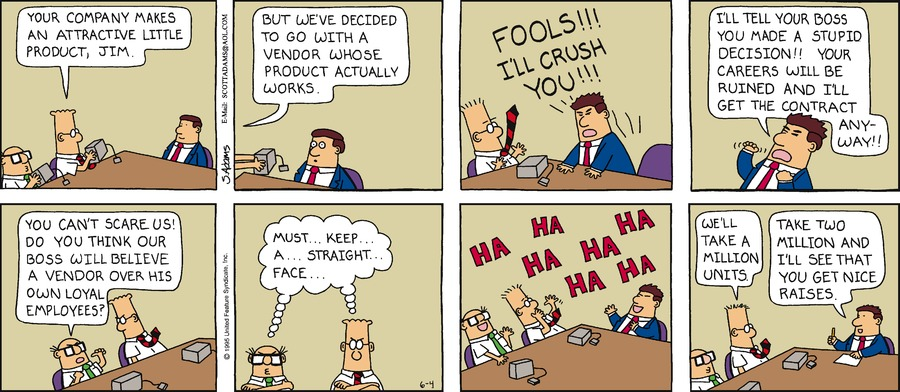 Dilbert Classics by Scott Adams for May 05, 2019