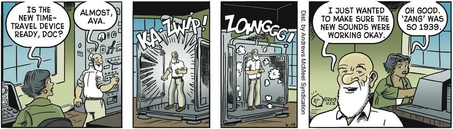 Alley Oop Comic Strip for June 14, 2019