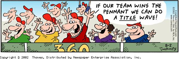 Frank and Ernest Comic Strip for August 02, 2002