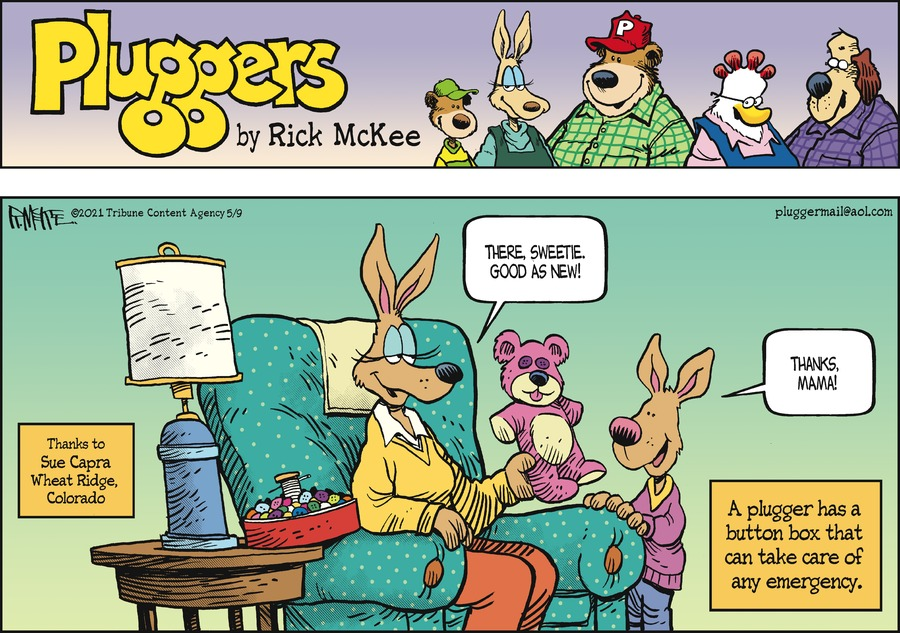 Pluggers Comic Strip for May 09, 2021