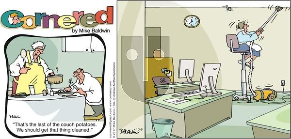 Cornered - Sunday October 8, 2017 Comic Strip