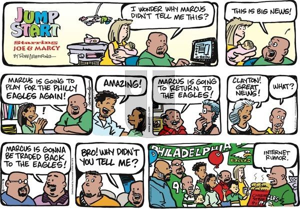 JumpStart on Sunday August 11, 2013 Comic Strip