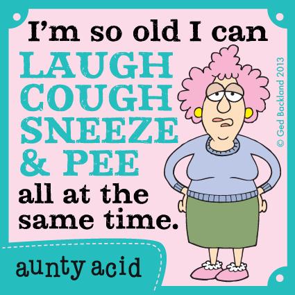 Aunty Acid for Oct 22, 2013 Comic Strip