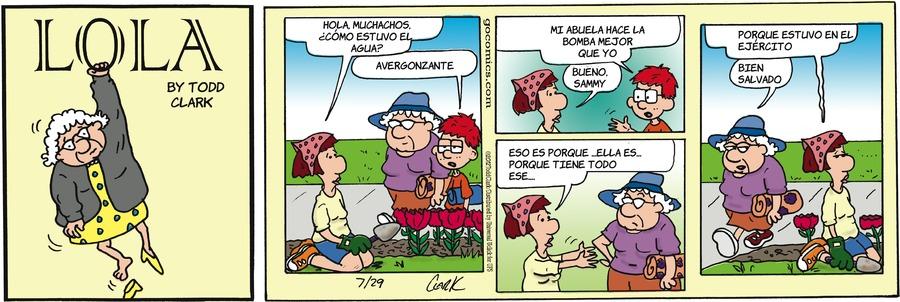 Lola en Español by Todd Clark on Sun, 25 Apr 2021