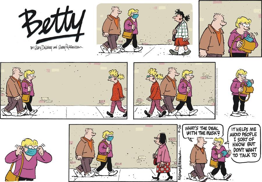 Betty Comic Strip for September 26, 2021