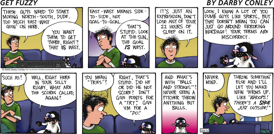 Get Fuzzy Comic Strip for June 13, 2021