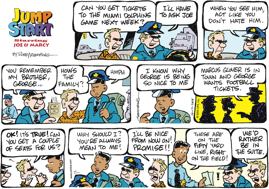 JumpStart for Oct 17, 2004 Comic Strip