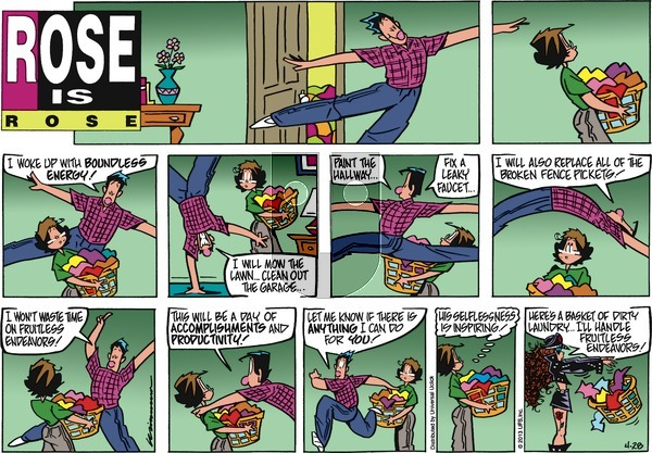Rose is Rose on Sunday April 28, 2013 Comic Strip