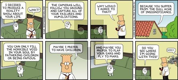 Dilbert - Sunday June 8, 2008 Comic Strip