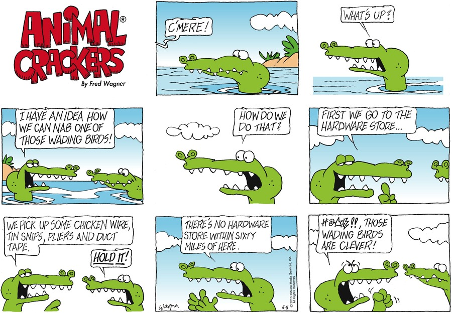 Animal Crackers for May 5, 2013 Comic Strip