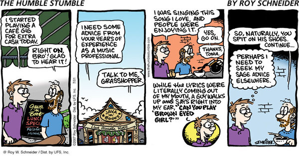 The Humble Stumble Comic Strip for March 26, 2019
