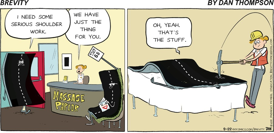 Brevity Comic Strip for September 22, 2019
