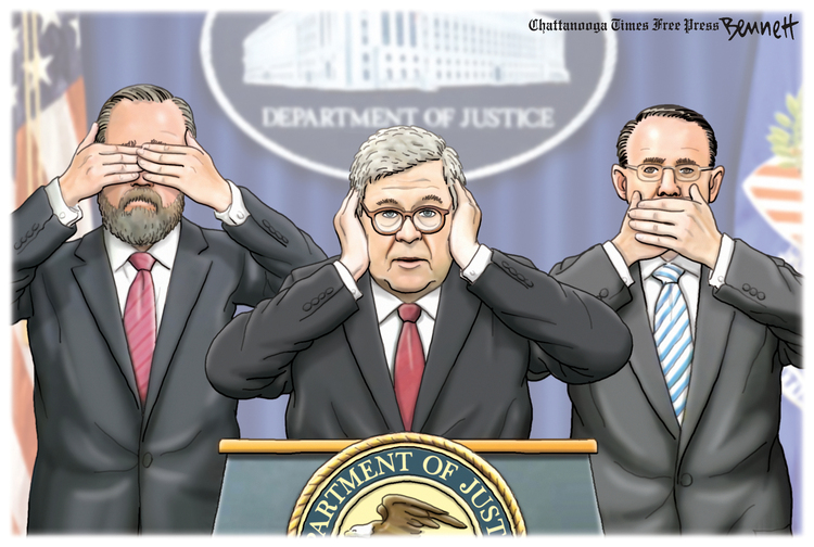 Clay Bennett Comic Strip for April 19, 2019