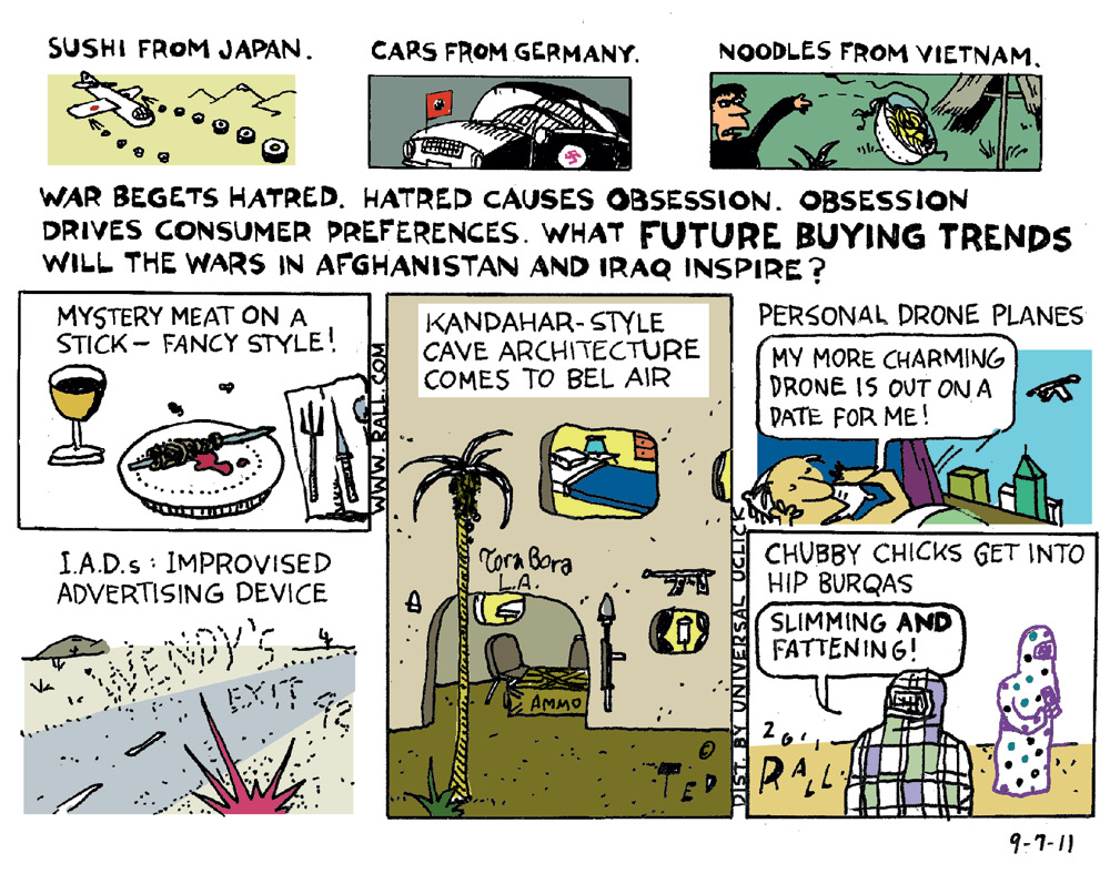 Ted Rall Comic Strip for September 07, 2011