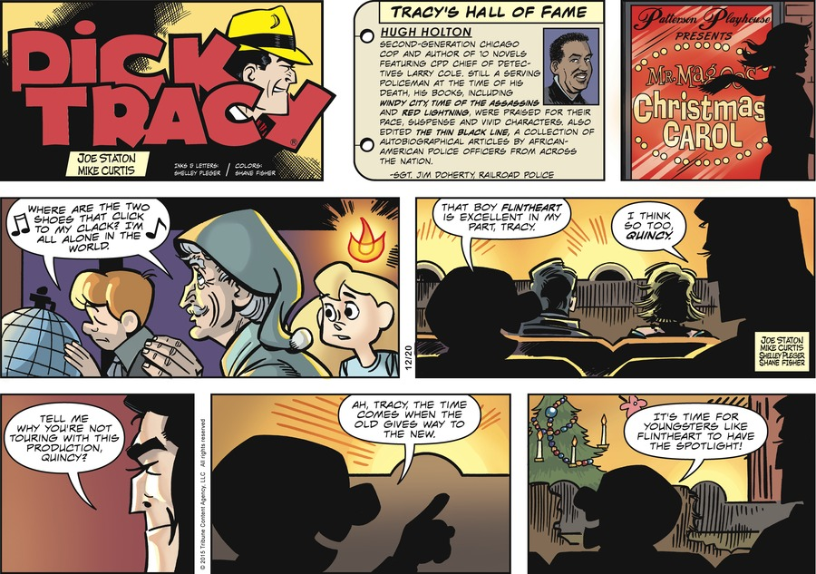 Dick Tracy Comic Strip for December 20, 2015