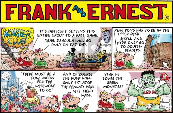 Frank and Ernest on Sunday July 8, 2018 Comic Strip
