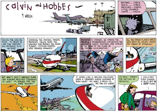 Calvin and Hobbes - Sunday August 30, 2020 Comic Strip