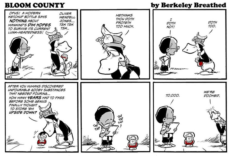 Bloom County 2019 Comic Strip for April 11, 2018