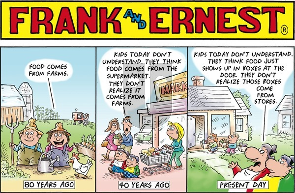Frank and Ernest on Sunday March 21, 2021 Comic Strip