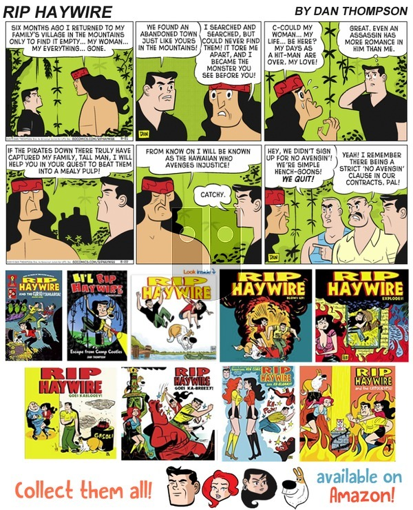 Rip Haywire on Sunday March 4, 2018 Comic Strip