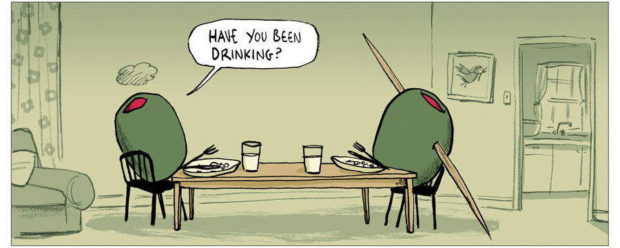 Berger & Wyse for Nov 14, 2012 Comic Strip
