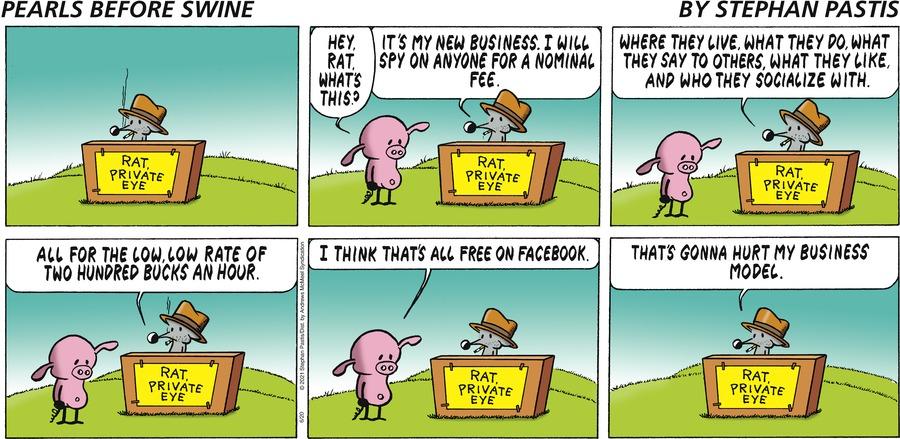 Pearls Before Swine Comic Strip for June 20, 2021
