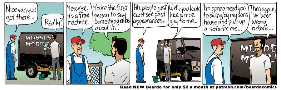 Beardo by Dan Dougherty on Thu, 23 Sep 2021