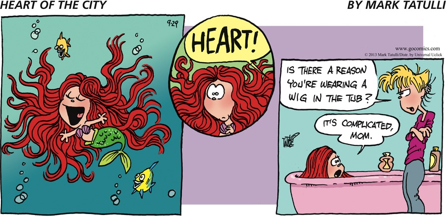 Heart of the City for Sep 29, 2013 Comic Strip