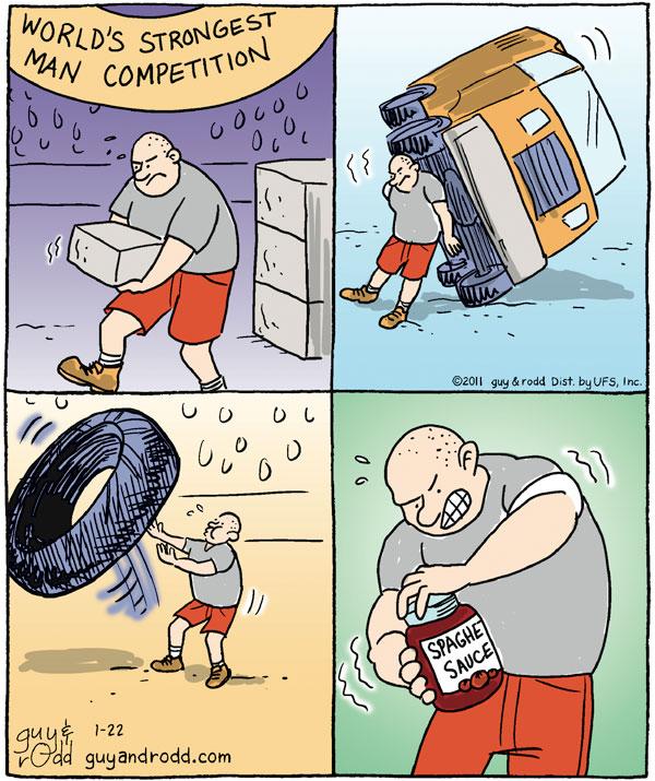 Brevity for Jan 22, 2011 Comic Strip