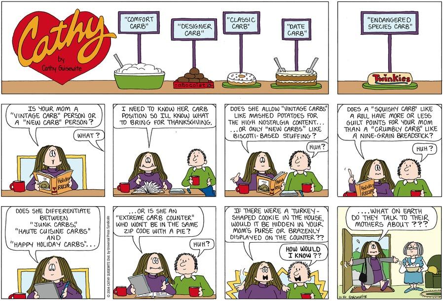 Cathy for Nov 21, 2004 Comic Strip