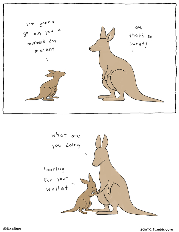 Liz Climo Cartoons Comic Strip for May 08, 2020