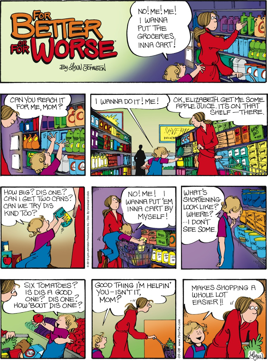 For Better or For Worse for Sep 8, 2013 Comic Strip