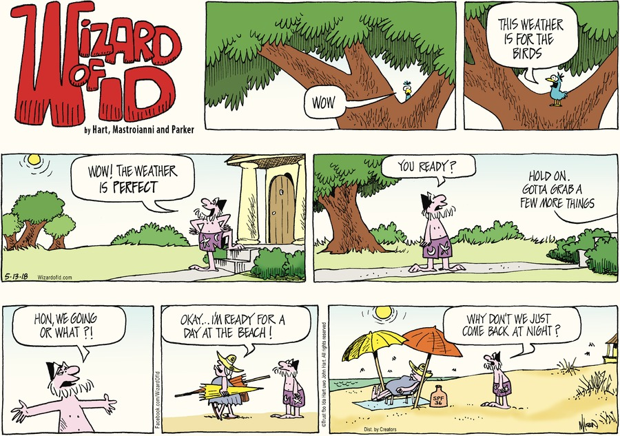 Wizard of Id Comic Strip for May 13, 2018