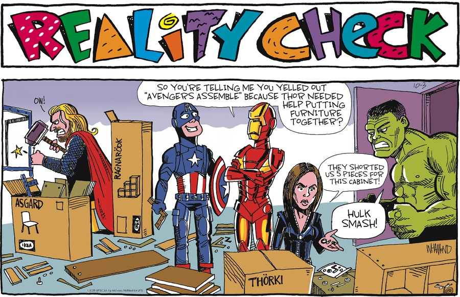 Reality Check by Dave Whamond on Sun, 03 Oct 2021