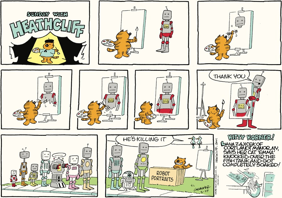 Heathcliff by George Gately for March 24, 2019