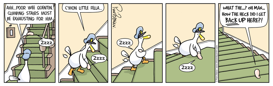 Ollie and Quentin for May 20, 2013 Comic Strip
