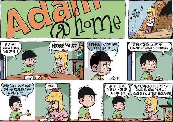 Adam@Home - Sunday October 7, 2018 Comic Strip