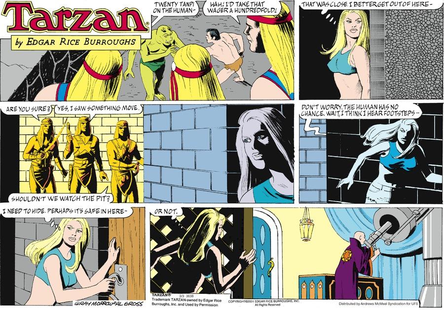 Tarzan by Edgar Rice Burroughs for March 03, 2019