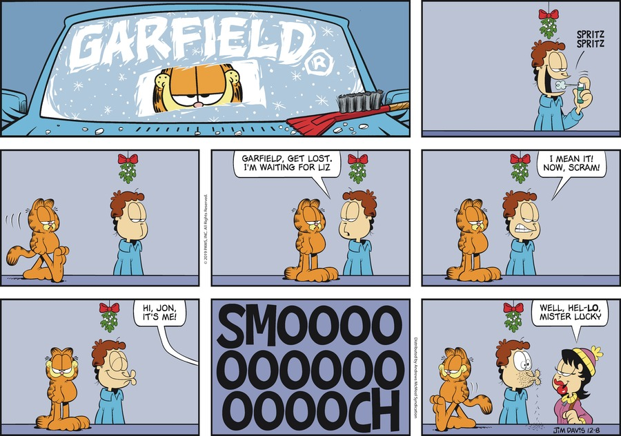 Garfield Comic Strip for December 08, 2019