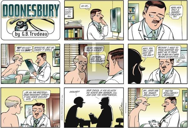 Doonesbury on Sunday December 18, 2005 Comic Strip
