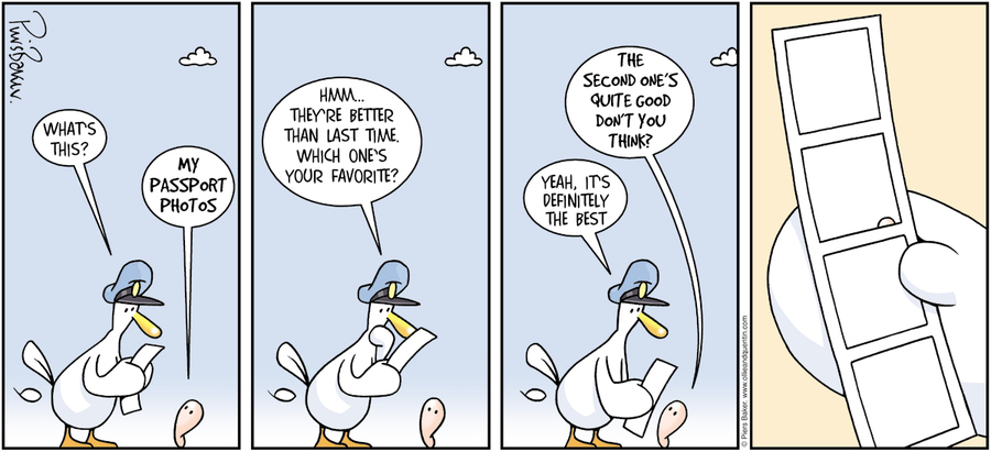 Ollie and Quentin Comic Strip for May 26, 2013