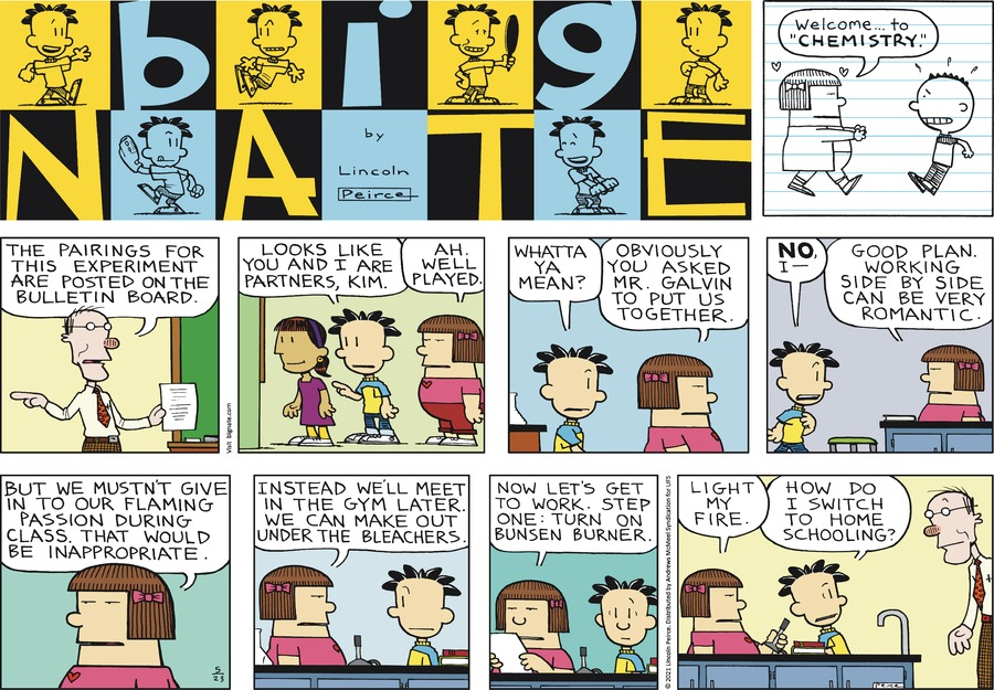 Big Nate Comic Strip for May 23, 2021