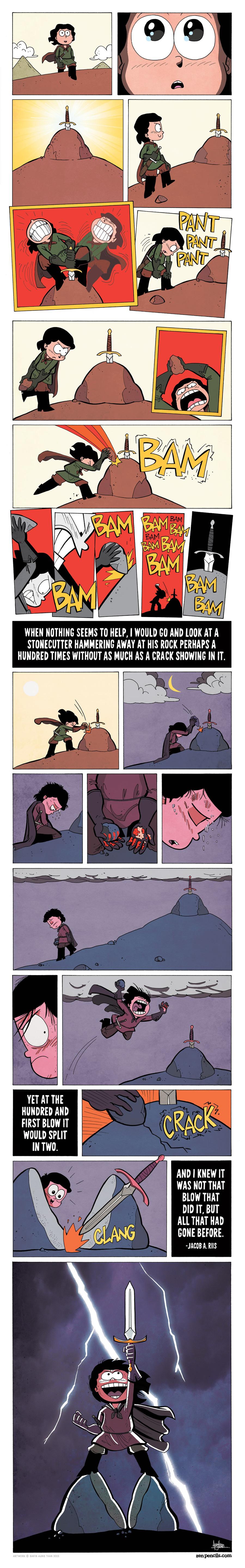 Zen Pencils Comic Strip for March 07, 2016