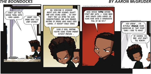 Collectible Print of boondocks, the